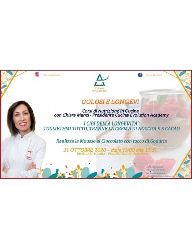 31/10 - Corso di Nutrizione Culinaria...