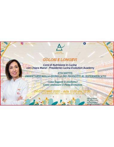 24/10 - Corso di Nutrizione Culinaria...