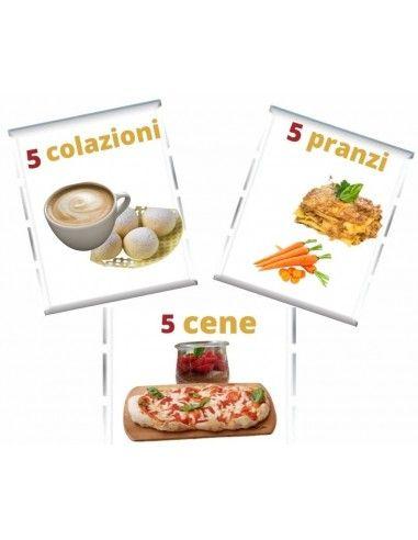 Menù Settimanale con Dolci e Pizze da...
