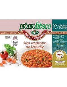 Ragù Vegetariano con Lenticchie