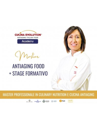 Master Antiaging Food: Teoria + Stage