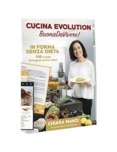 """Libro di Cucina Evolution """"BuonaDaVivere"""""""