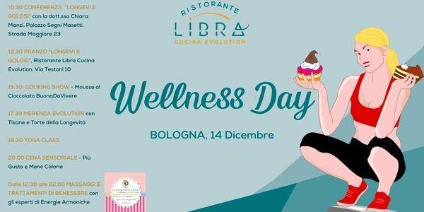 Golosi e Longevi: a Bologna il 14 Dicembre si festeggia il Wellness Day!